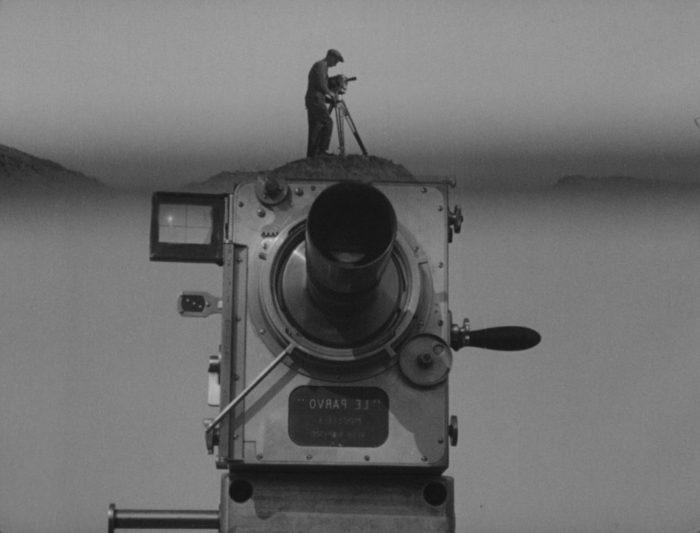 El hombre de la cámara, de Dziga Vertov, 1929. Imagen: VUFKU.