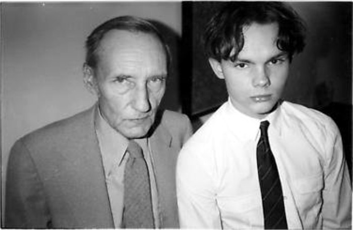 William S. Burroughs y William S. Burroughs Jr.. Foto cortesía de