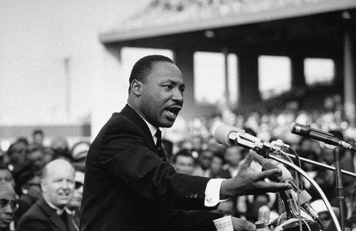 Martin Luther King Jr., Nueva York, 1962. Fotografía cortesía de nysmuseum.