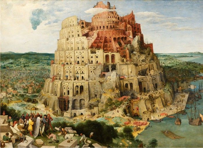 La Torre de Babel, de Pieter Brueghel el Viejo. (DP)