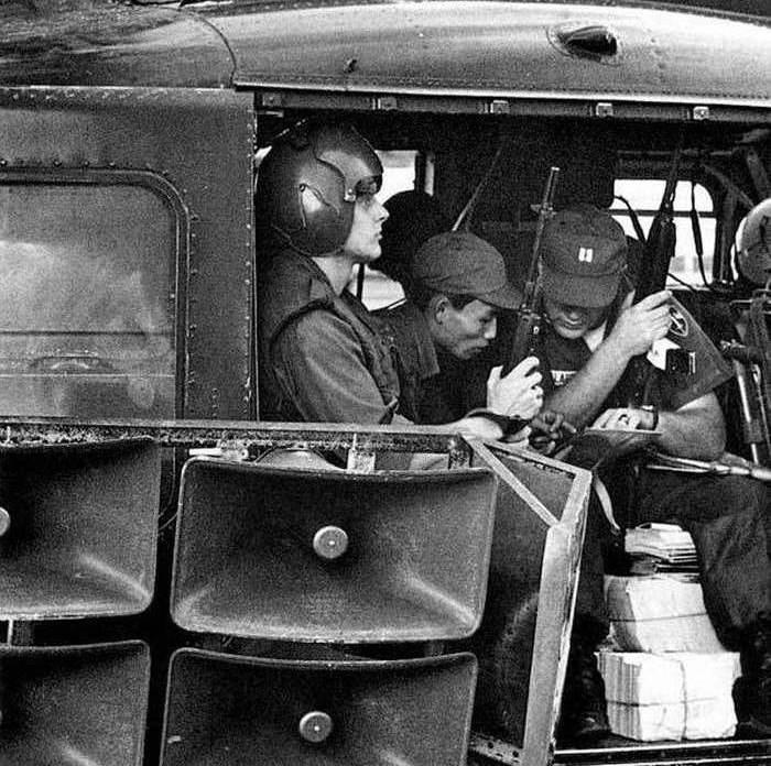 Misión de propaganda a cargo de soldados de EEUU y Vietnam del Sur. Imagen cortesía de psywarrior.com