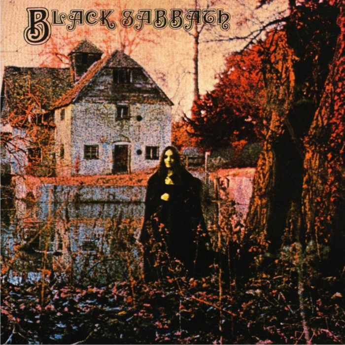 Portada del primer disco de Black Sabbath. Imagen: Vertigo.