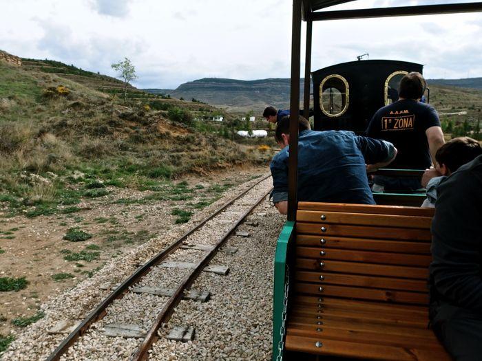 Trenecito de vapor en Utrillas