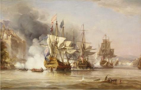 La captura de Puerto Bello, por George Chambers Sr.