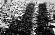 La sombra del World Trade Center sobre el Bajo Manhattan, 1988. Fotografía: Corbis.