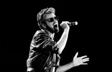 File photo dated 13/07/85 of George Michael of Wham performing at the Live Aid concert at Wembley Stadium in London, as the pop superstar has died at the age of 53 from suspected heart failure.