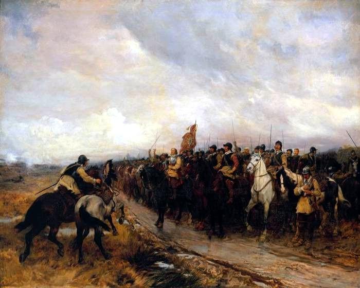 Cromwell en Dunbar