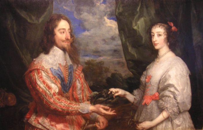 Van Dyck Charles I and Henrietta