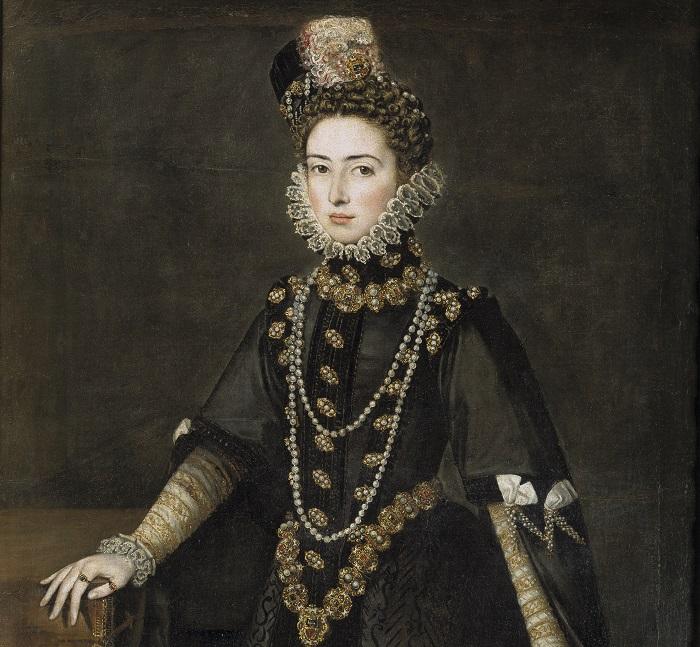alonso sc3a1nchez coello catalina micaela de austria duquesa de saboya 1584 5 museo del prado madrid