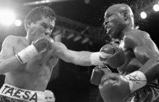 Dos segundos para la historia del boxeo: Chávez vs. Meldrick vs. Steele