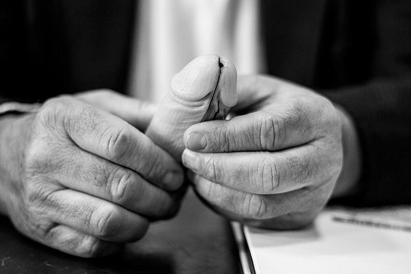 Cómo examinar la próstata sin letra