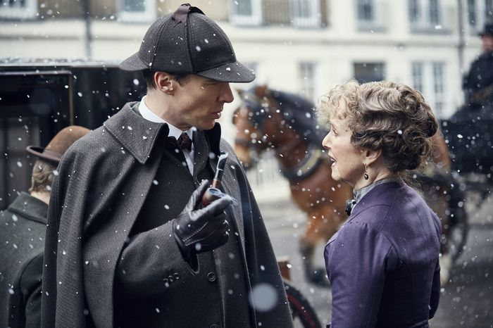Sherlock and Hudson Sherlock TV show on BBC One and PBS Sherlock the Abominable Bride Victorian special episode