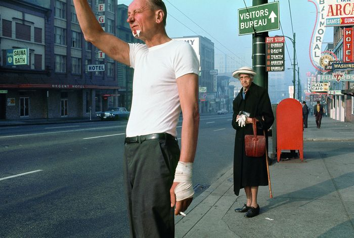 8 Fred Herzog Man with bandage 1968 Courtesy of Equinox Gallery Vancouver © Fred Herzog 2016