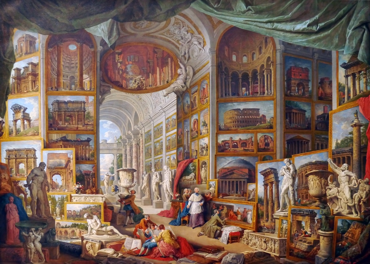 Pannini Giovanni Paolo Gallery of Views of Ancient Rome 1758