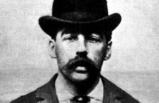 Retrato policial de Henry Howards Holmes, 1895.