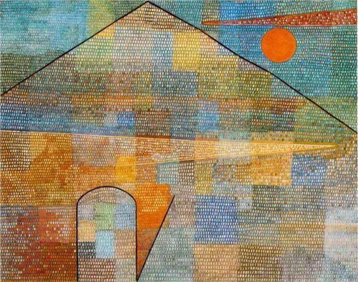 Ad Parnassum 1932 by Paul Klee