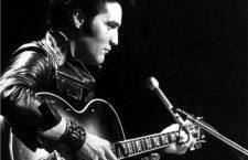 Elvis Presley en 1968. Imagen: NBC.