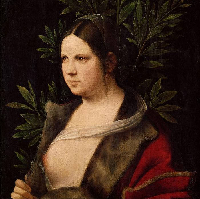 Laura Giorgione 1506 Kunsthistorisches Museum Viena