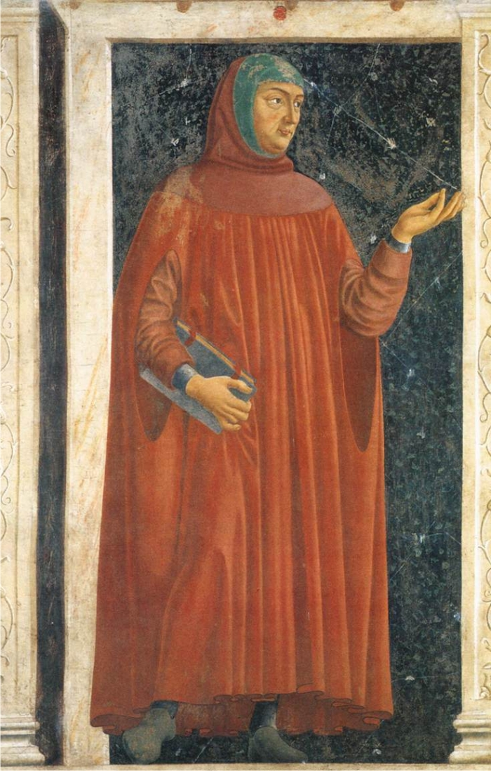 Petrarca Andrea del Castagno 1350 Galleria degli Uffizi Florencia