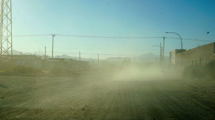 Paty Godoy Agua Prieta frontera Sonora Arizona polvareda