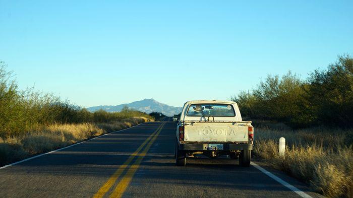Paty Godoy Por las carreteras de Sonora