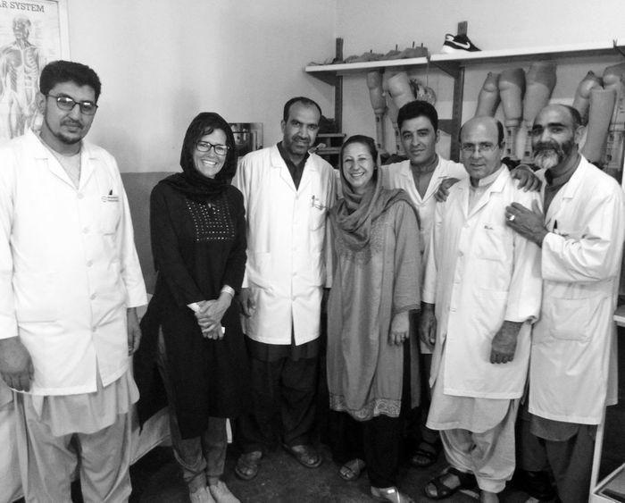Foto 1 Lorena Verbena Centro Ortho Kabul