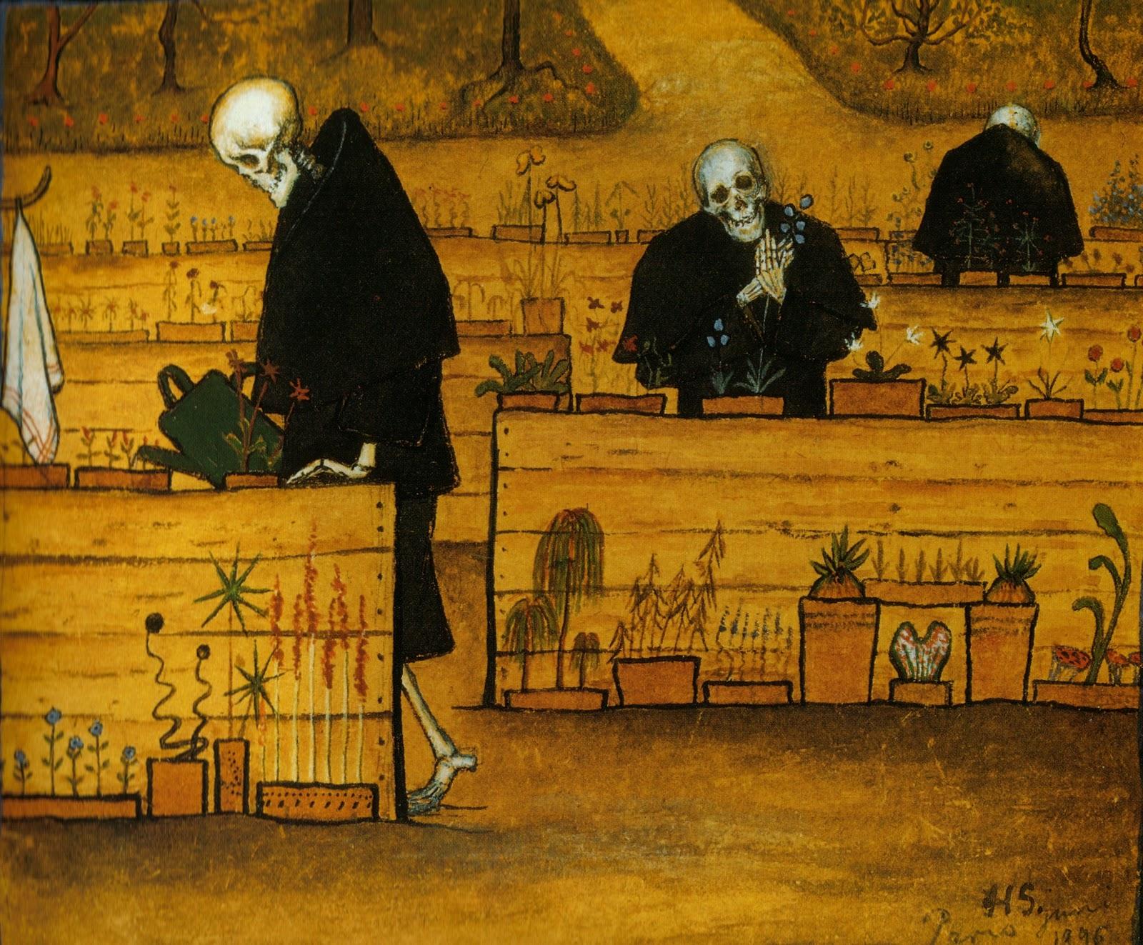 Hugo Simberg Garden of Death