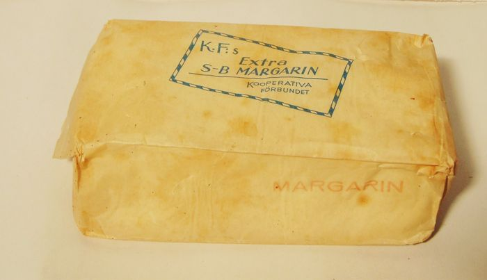Packaging of margarine Extra S B Margarin
