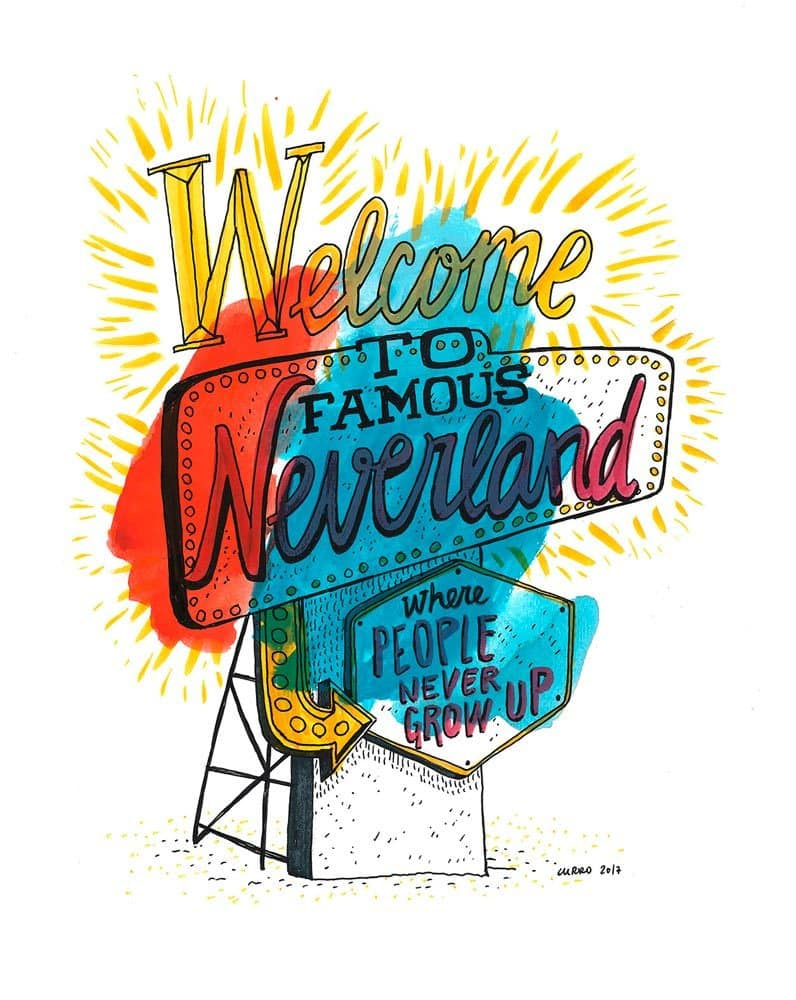 welcome to neverland curro suarez