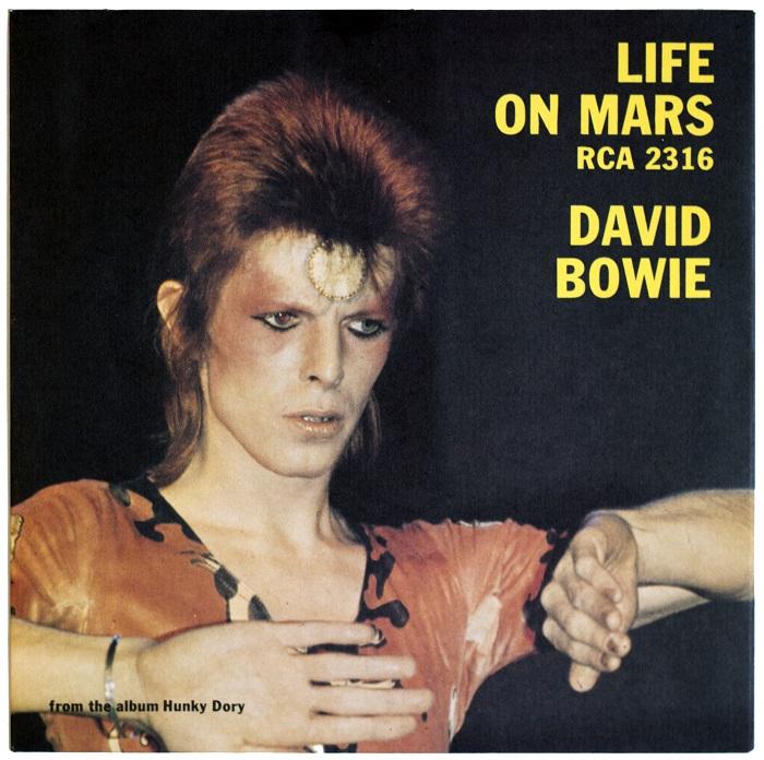 David Bowie – Life On Mars 1973. Vinilo original