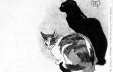 Las extravagantes gatas de Théophile Steinlen