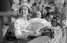 Francisco Franco y Carmen Polo en Donostia, 1950. Fotografía: Vicente Martín / Kutxa Fototeka (CC).
