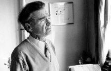 Emile Cioran ( 1911 - 1995 ) poete , philosophe, essayiste en 1977