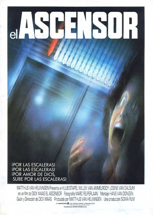 the elevator movie poster 1983 1020711593