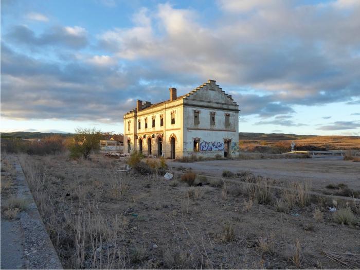 Foto 5. estación de Fitero subiendo hacia Ágreda