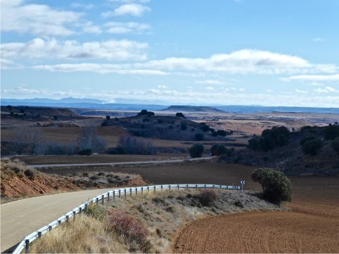 foto 6. el solitario sur de Soria en la frontera de Aragón