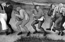 ÇPilgrimage of the Epileptics to the Church at MolenbeekÈ | ÇDancing ManiaÈ | ÇThe dance at MolenbeekÈ Pieter Breughel the Younger, painting.