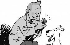 Hergé y las manzanas de Tintín