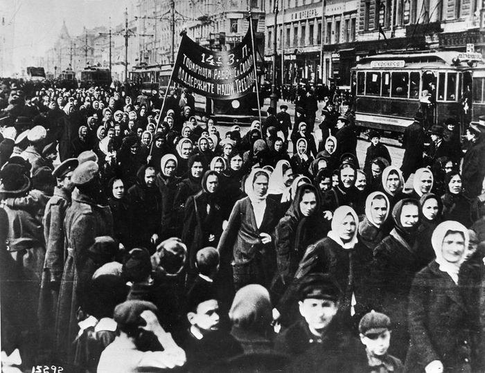 1917 International Womens Day Petrograd