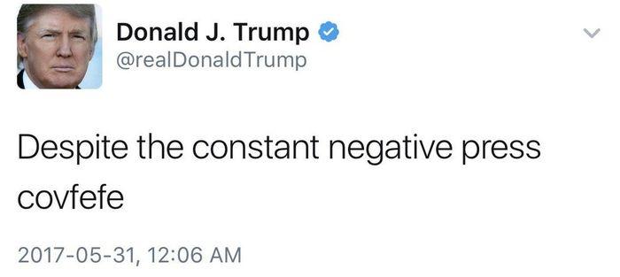 DonaldTrumpcovfefe