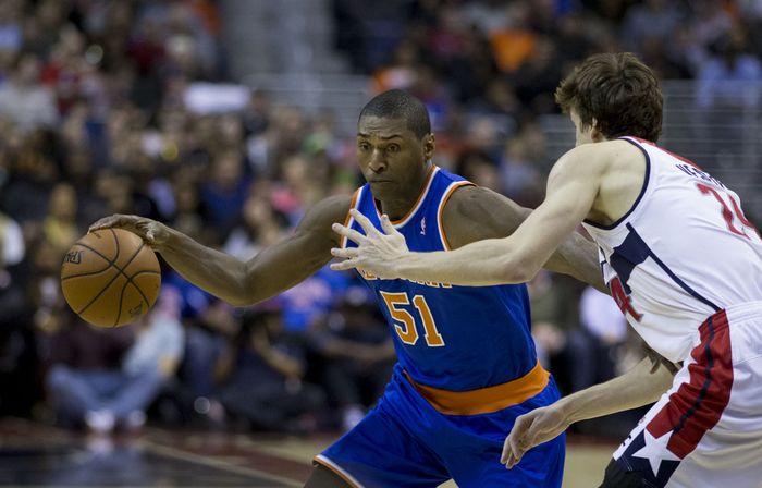 Metta World Peace Knicks