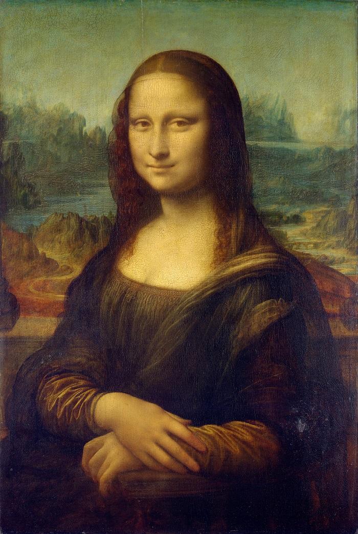 Mona Lisa by Leonardo da Vinci from C2RMF retouched