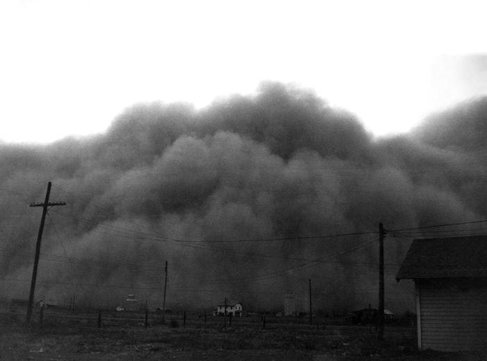 3. Tormenta de polvo en Hugoton Kansas 1936.