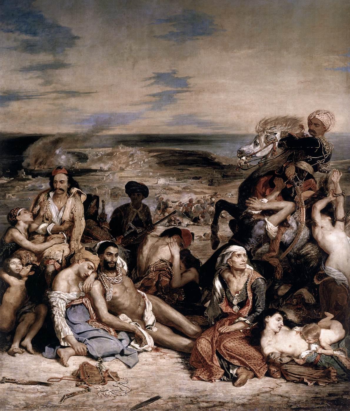 Eugène Delacroix Le Massacre de Scio