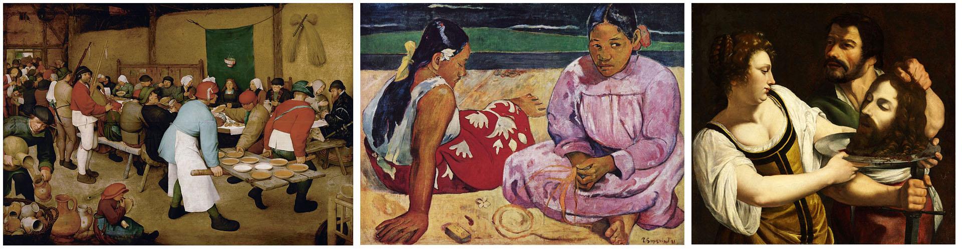 GauguinBrueghelyArtemisia
