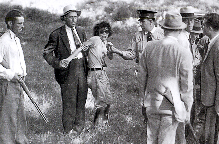 capture of Blanche Barrow 1933