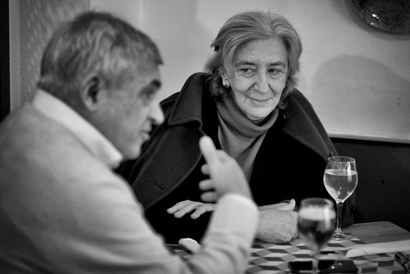 Clara Janés y Jenaro Talens para JD 3