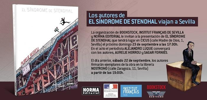 Invitación online El síndrome de Stendhal Sevilla