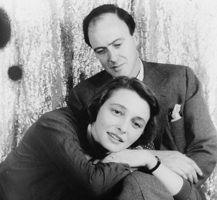05. Roald Dahl y Patricia Neal por Carl Van Vechten abril de 1954 Biblioteca del Congreso. Washington D.C..