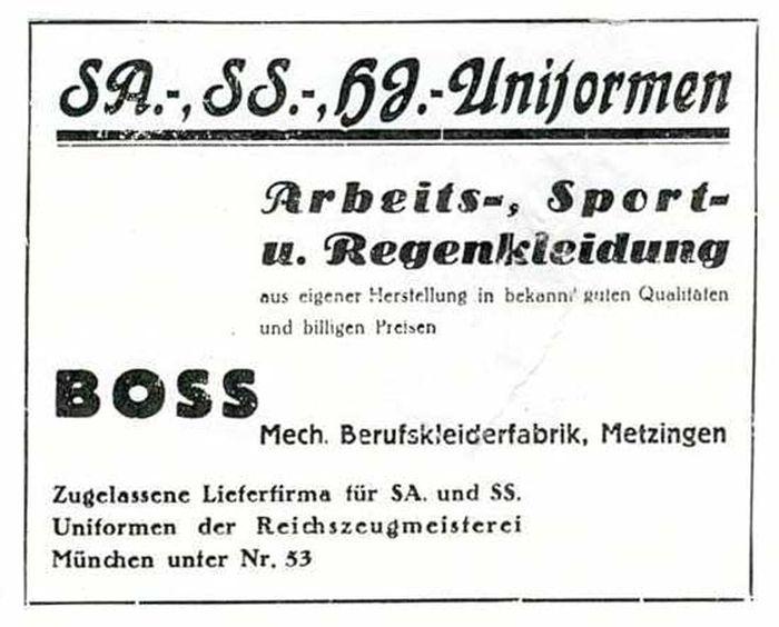 Boss 1933 anuncio result